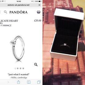 Selection on pandora rings
