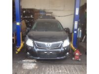 TOYOTA AVENSIS 2012 SALOON BREAKING FOR SPARES TEL 07814971951 HAVE FEW IN STOCK