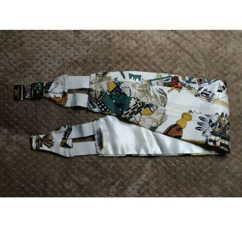 Authentic Hermes Vintage Cummerbund Silk Size 40