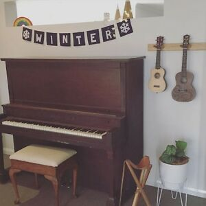J & C Fischer Upright Piano * FREE LOCAL DELIVERY* Cameron Park Lake Macquarie Area Preview