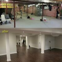 Renovation/Basement Finish-Get Your Free Quote Now!