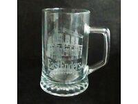 EastEnders Glass Tankard, Christmas Gift, (1988)