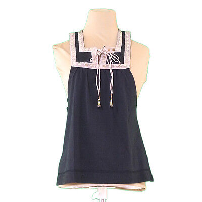 Chloe tops Black Gold Woman Authentic Used L1871