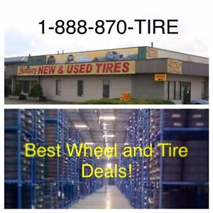 80,000 NEW & USED TIRES & wheels in stock