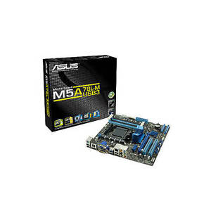 New Asus M5A78L-M/USB3 Socket AM3+/ AMD 760G (780L)/ DDR3/ CrossFireX/ USB3.0/