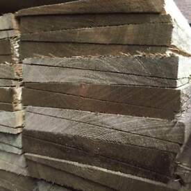 🌟 Treated Feather Edge Fencing Pieces / Boards
