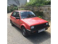 1985 Daihatsu Charade Turbo - Excellent condition - very rare model in UK