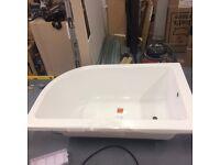 1500x950 RH curved bath