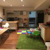 2 Toddler spots available in Home Day Care- East Waterloo