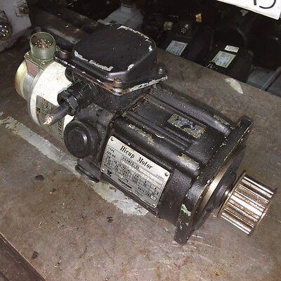 Yaskawa Hicup Servo Motor UGHMED-03GG1SF, W/ TFUE-15ZD7 Encoder, Used, WARRANTY