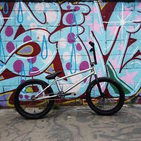 Custom bmx bike-super light