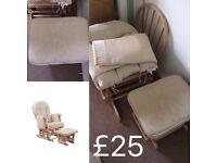 Serenity Nursing Chair & Stool