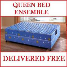 Queen Bed - Innerspring Mattress + Bed Base - NEW! Delivered FREE New Farm Brisbane North East Preview