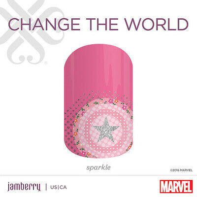 Jamberry~Marvel Super Hero Chic Nail Wraps~1/2 sheets