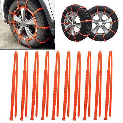 Car Truck Snow Anti skid Wheel Tire Chains Universal Fit Tyre Width 175 295