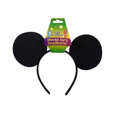 Schwarz Mickey Maus Ohren Stirnband Junggesellinnenabschied Junggesellenabschied