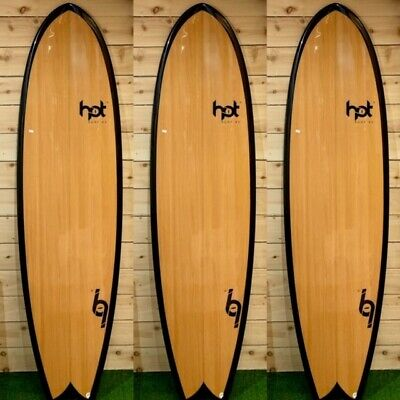 "6""2 Ft Hot Surf 69 Surfboard Epoxy Fish Shortboard Quad Fins/Leash/wax Package  for sale  Perranporth"