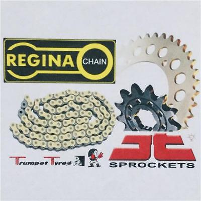YAMAHA XS500 74 75 REGINA CHAIN X ANELLO ZRP530 JT SPROCKET SET 17 43
