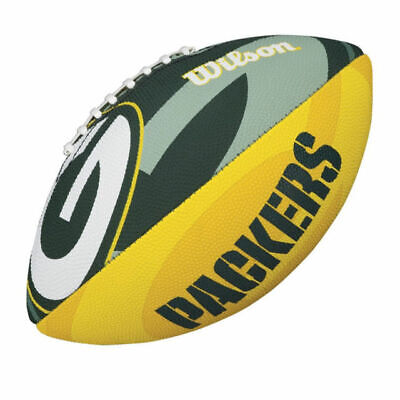 b9c7d6dad 2019 Wilson NFL Green Bay Packers Junior Team Logo Football