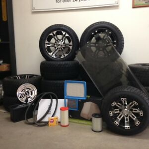 PARTS FOR GOLF CARTS