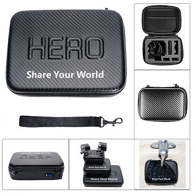Waterproof Shockproof Storage Carry Case Bag Protect Box For GoPro Hero 2 3 3+ 4