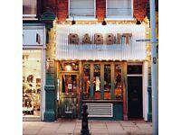 Chef De Partie for British restaurant in Chelsea, 26.5K +benefits