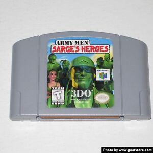 Looking for sarges heros N64