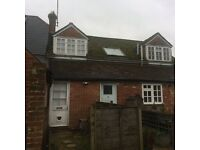 3 Bed flat + self contained stable block containing 5 stables, tack room and storage area