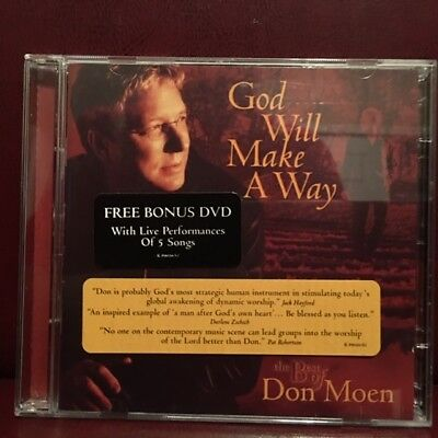 God Will Make a Way: The Best of Don Moen with Free Bonus