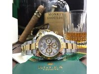 New Twotone Bracelet White Face Rolex Daytona Comes Rolex Bagged And Boxed With Paperwork