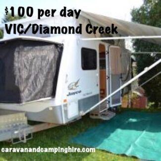 CARAVAN FOR HIRE - 2009 Jayco Expanda Outback 16.49-2 - $105 p/d Diamond Creek Nillumbik Area Preview