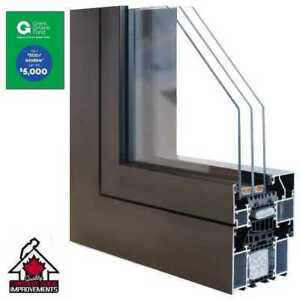 Save $500 a window with the GreenOn Rebate Program