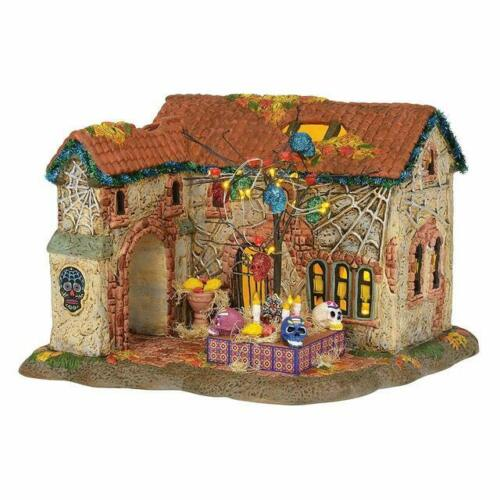 Department 56 Snow Village Halloween Day of The Dead House (6003161)