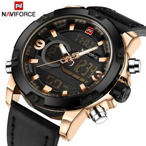 Mens luxury watch - Digital Leather Watch Quartz Clock Relogio