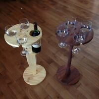 Wine Glass & Bottle & Beer/Can Tables