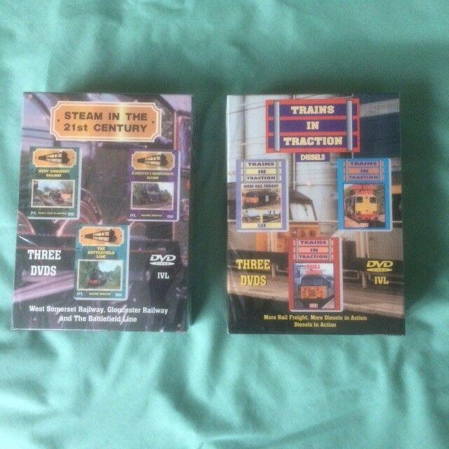 RAILWAY STEAM & DIESEL DVD's - BRAND NEW UNOPENED.