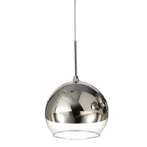 Pendant Light Chandelier Single Ceiling Lamp Crystal New Underwood Logan Area Preview