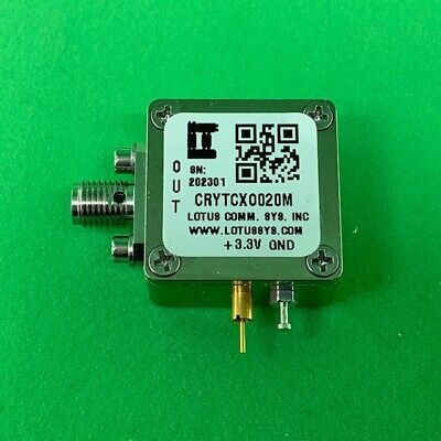 Oscillator Tcxo Stratum 3 20 Mhz 0.28 Ppm In Enclosure