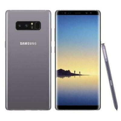 Samsung Galaxy Note 8 SM-N950U 64GB Factory Unlocked Smartphone - Orchid Gray