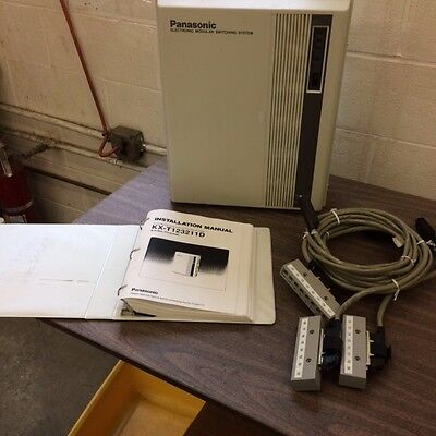 Panasonic Kxt-12311d Pbx Phone System