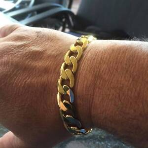18K GOLD PLATED BRACELET Darch Wanneroo Area Preview