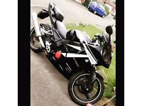 Daelim Roadsport 125cc Motorbike