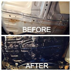 Rust proofing find or advertise auto services in toronto for Undercoating with used motor oil