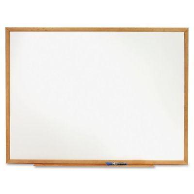 New Quartet Standard Dry Erase Board - Qrts573 36 X 24 White Board Size Oak