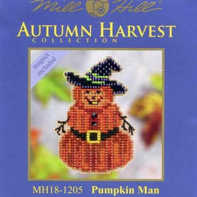 Mill Hill Cross Stitch Bead Kit - Autumn Harvest - Pumpkin M