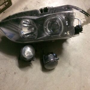 volkswagen touareg fog lights and headlight West Island Greater Montréal image 1