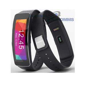 NUOVO-SAMSUNG-GALAXY-GEAR-FIT-Manichino-Display-Orologio-Nero-UK-Venditore