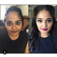 $55 Professional Makeup, Hair and Henna by @nishartistry