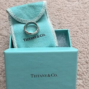 Authentic tiffany rings - sterling silver