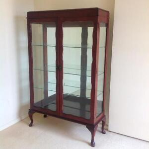 Vintage China cabinet  with glass sheles Bayview Pittwater Area Preview